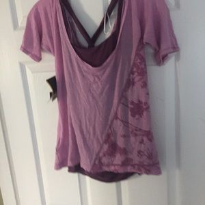 Mountain Hard Wear NWT XS tee with tank so cute